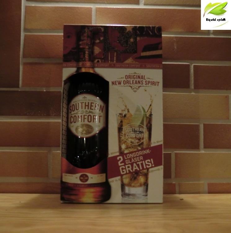 southern comfort 0 7l 2 original gl ser set whisky lik r. Black Bedroom Furniture Sets. Home Design Ideas